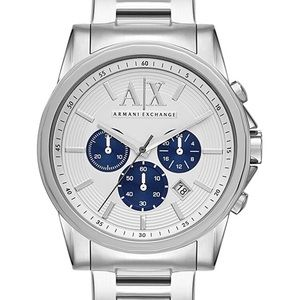 01286 Armani Exchange Men's Chronograph Silver